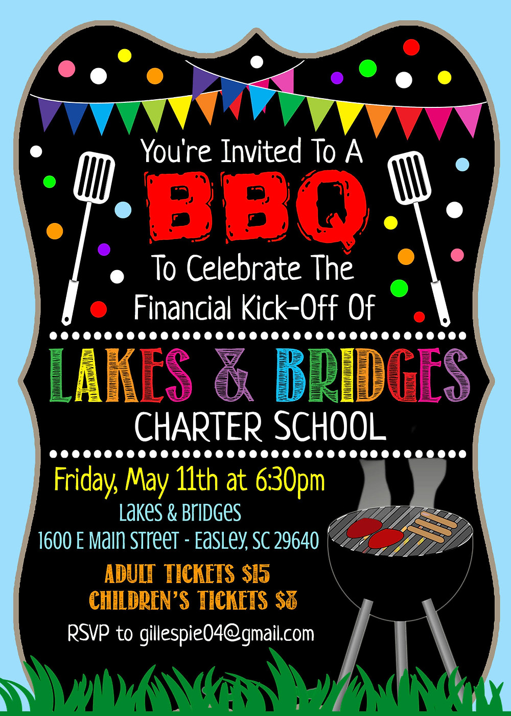Lakes and Bridges School BBQ Party