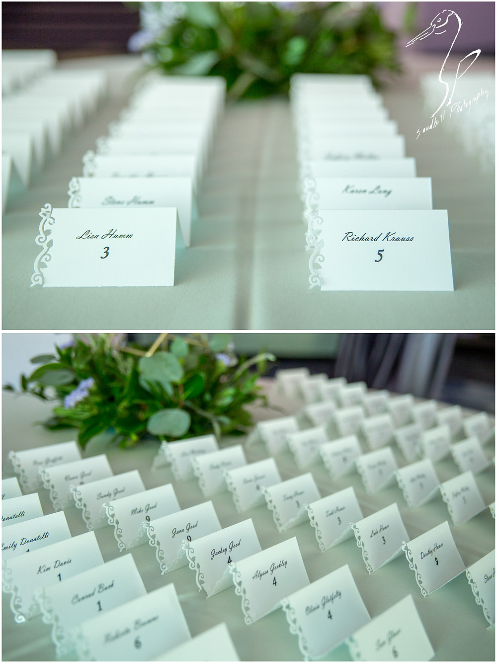 Van Wezel Wedding Photography, reception details of place setting cards