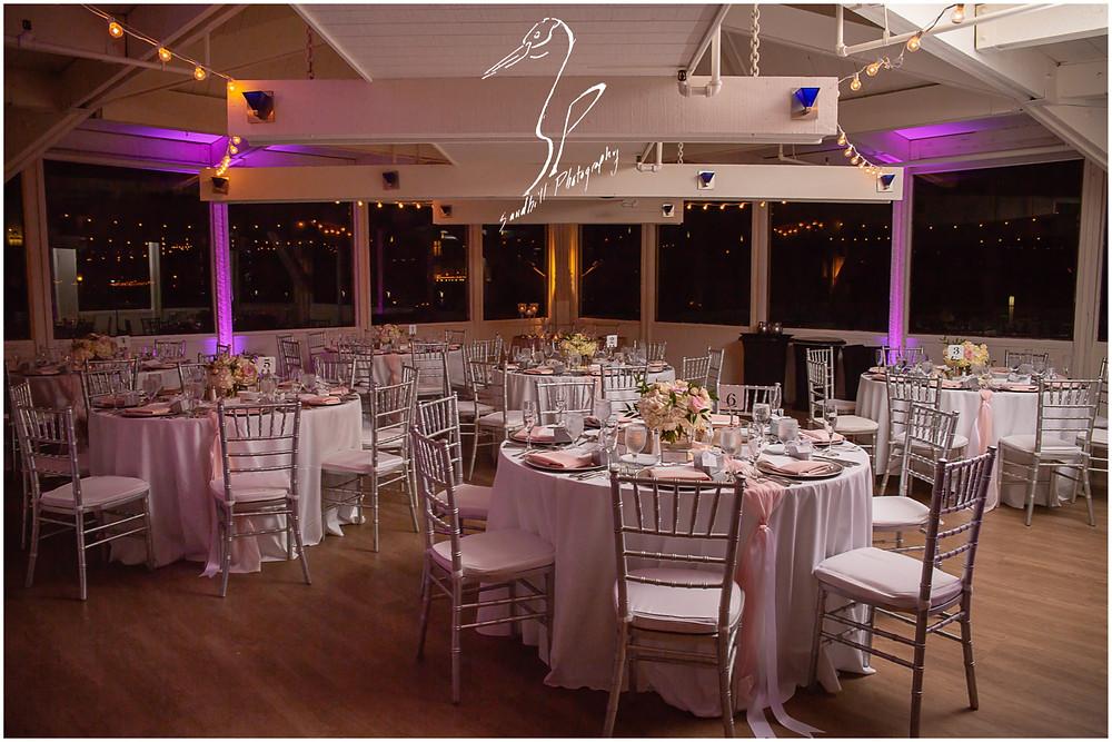 Sarasota Beach Wedding Photography, wedding reception at the boathouse at the Hyatt Regency Sarasota