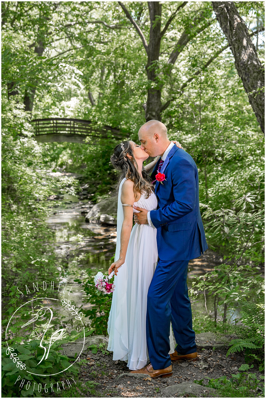 Destination Wedding Photographer, wedding portrait at Botanical Gardens at Asheville image by Sandhill Photography, Bradenton FL