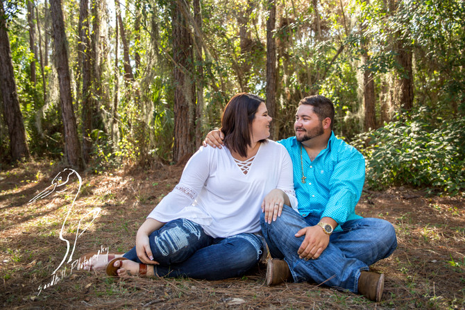 Adventure Park and De Soto National Memorial Engagement Photography | Logan & Travis
