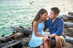 Anna Maria Island Engagement Photographer captures sweet moments on Coquina Beach