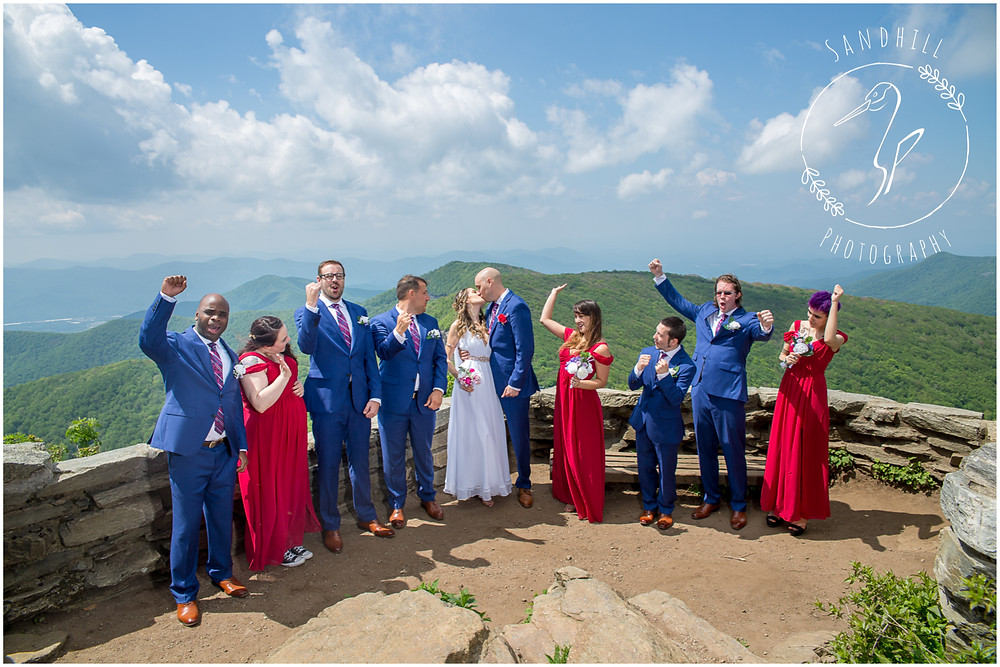 Destination Wedding Photographer, mountain top wedding, image by Sandhill Photography, Bradenton FL