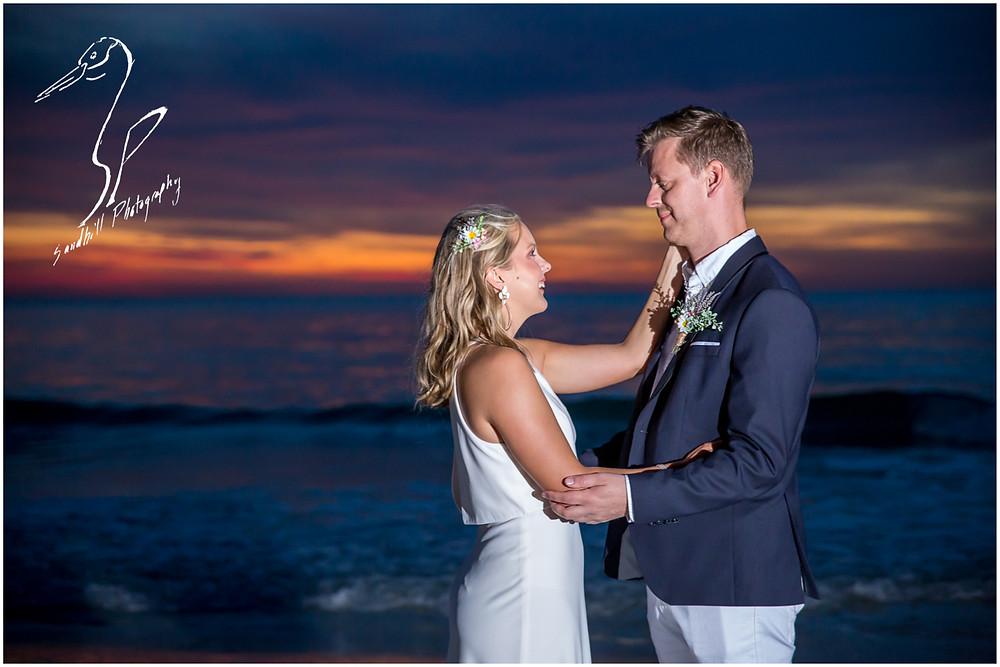 Anna Maria Island Wedding Photography, sunset wedding portraits