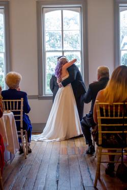 Churchill's Pub wedding ceremony