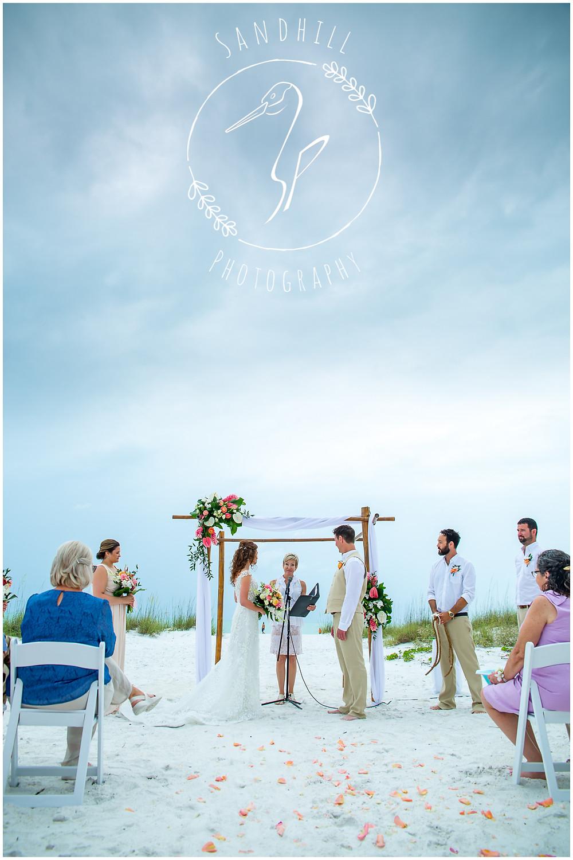 Anna Maria Island Wedding Photographer beach ceremony at The Sandbar Restaurant