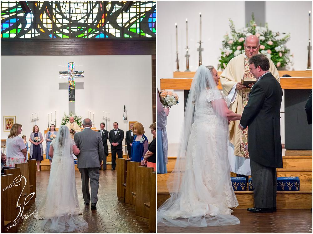 Rainy Day Wedding Photography Sarasota, Wedding Ceremony at St. Boniface Episcopal Church, Siesta Key