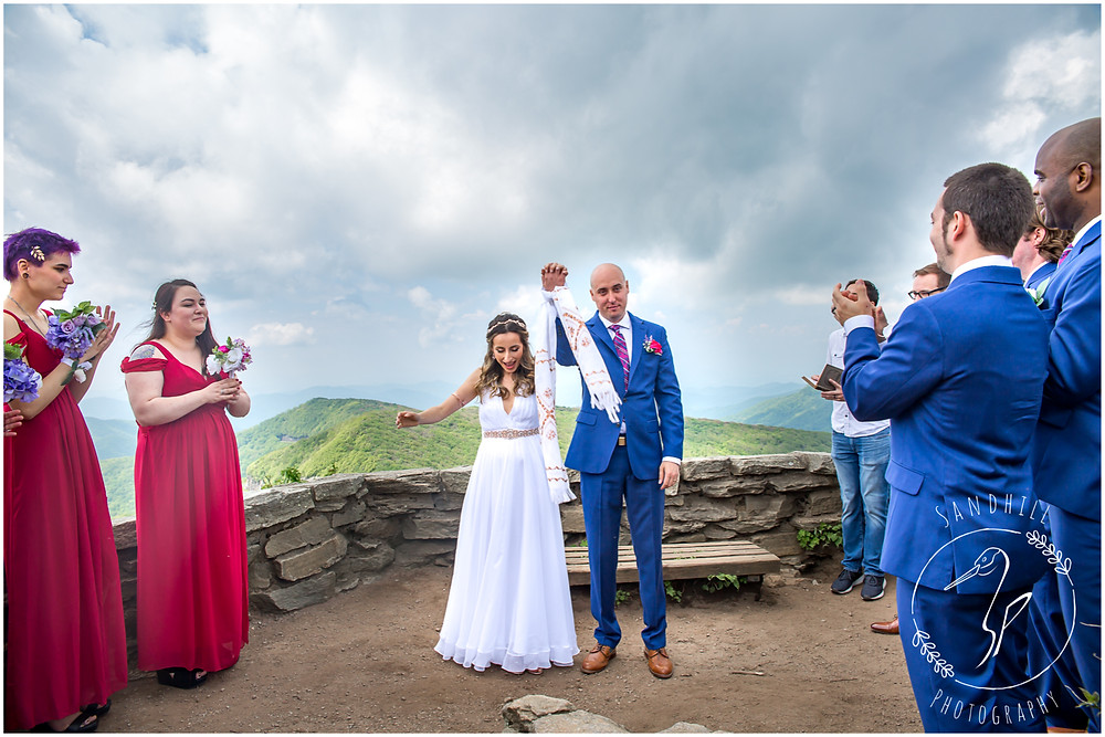 Destination Wedding Photographer, mountain top wedding ceremony, image by Sandhill Photography, Bradenton FL