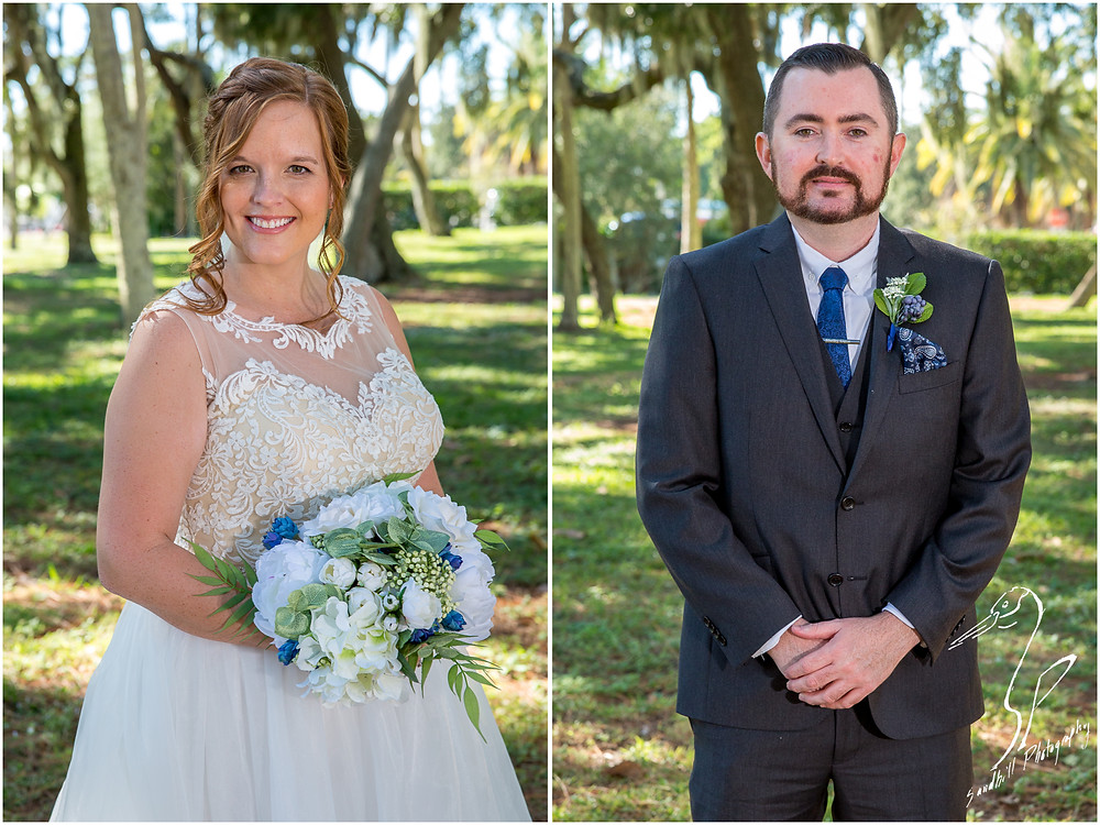 Sarasota Wedding Photography Crocker Memorial Church Wedding portraits captured by Sandhill Photography