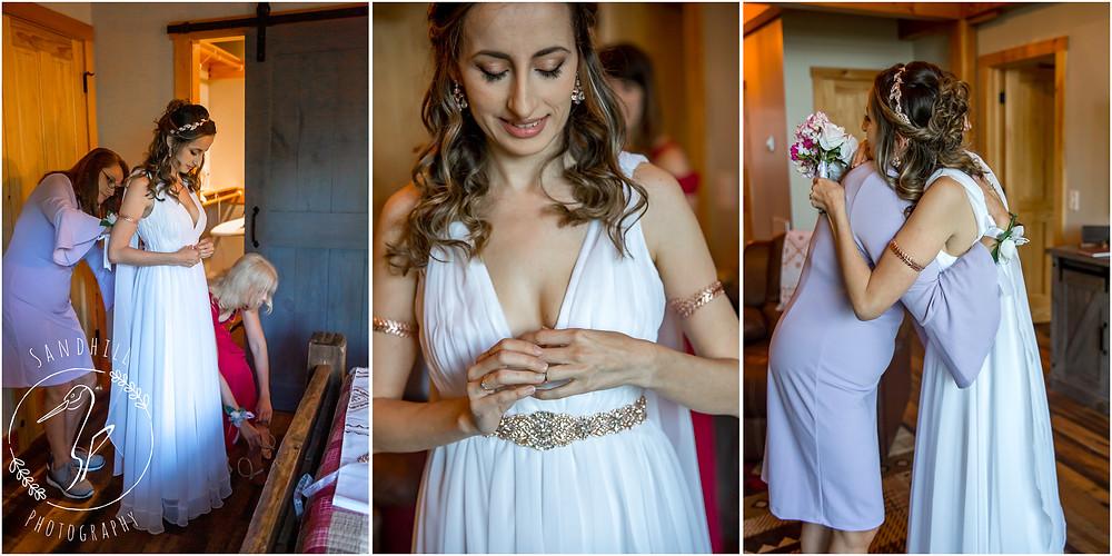 Destination Wedding Photographer, Bride getting ready, image by Sandhill Photography, Bradenton FL