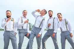 Bradenton Wedding Photogapher groomsmen getting ready