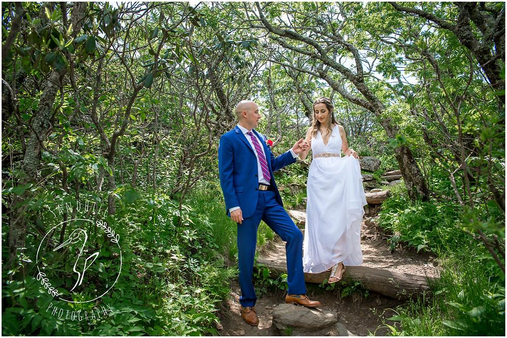 Destination Wedding Photographer, mountain top wedding portrait, image by Sandhill Photography, Bradenton FL