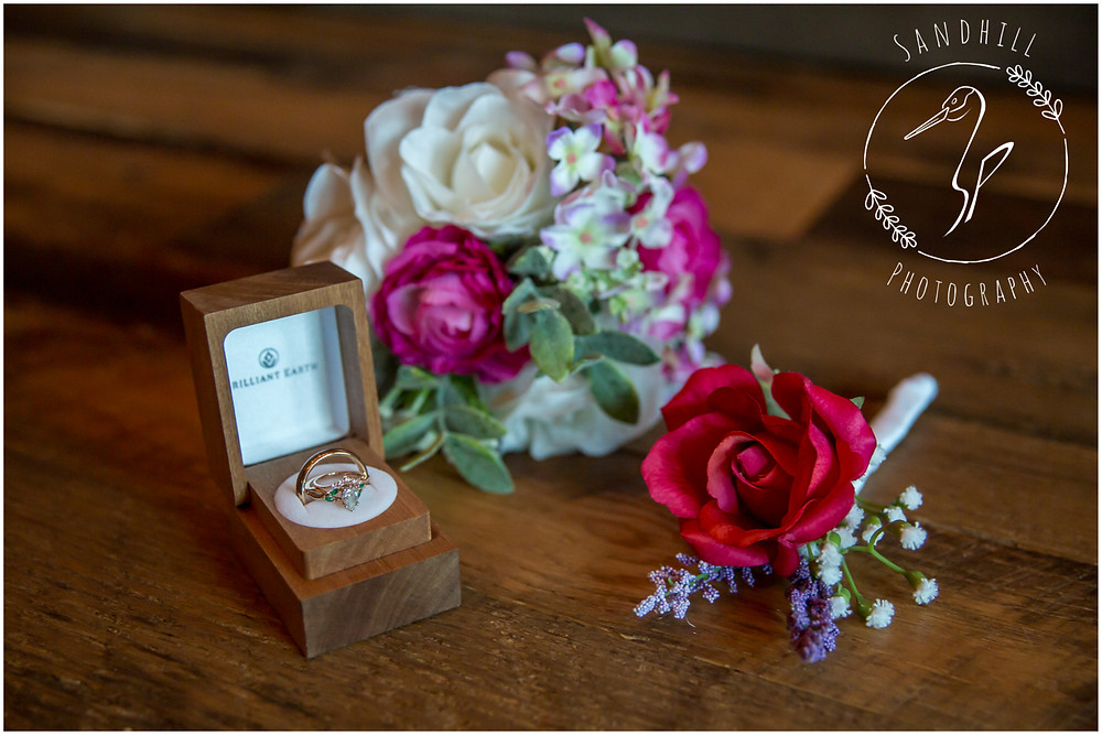 Destination Wedding Photographer, detail photography with wedding rings, image by Sandhill Photography, Bradenton FL