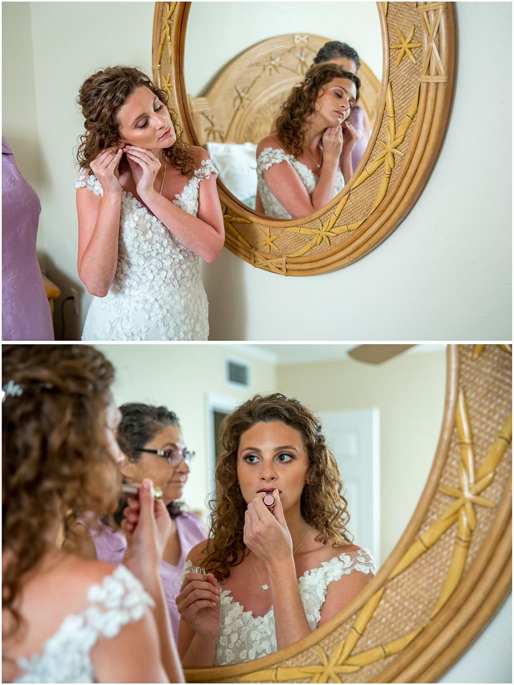 Anna Maria Island Wedding Photographer getting ready details at Cedar Cove Resort