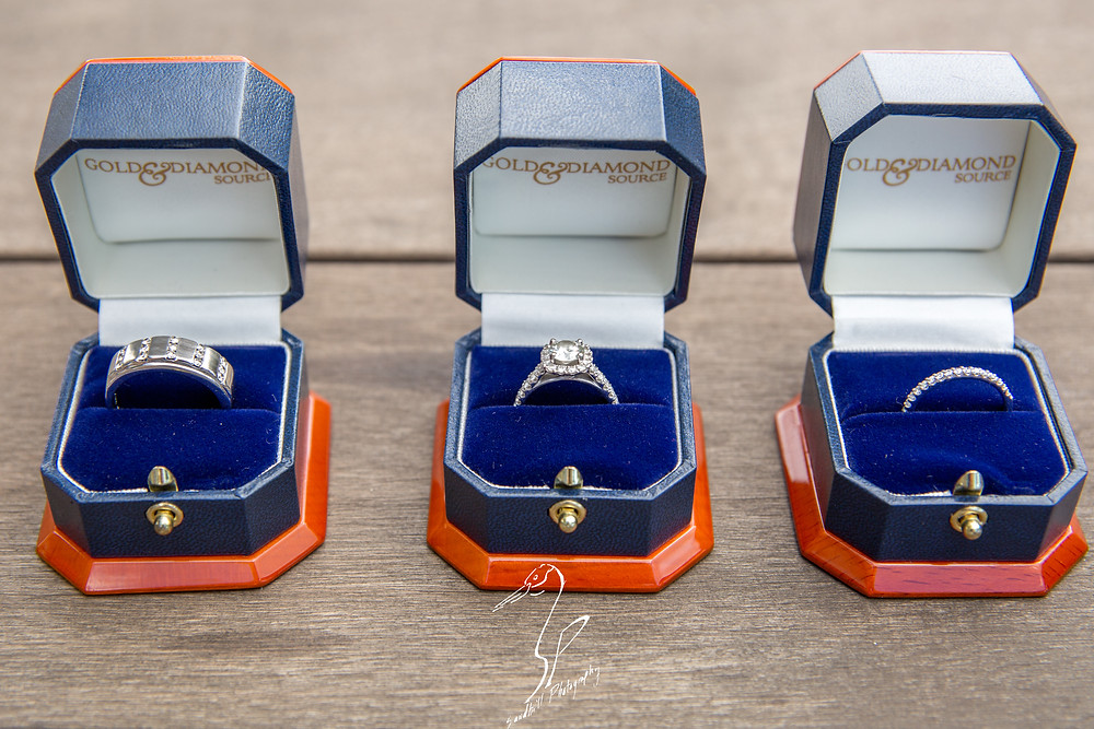 Anna Maria Oyster Bar Wedding Photography Rings ring box gold and diamond source detail picture