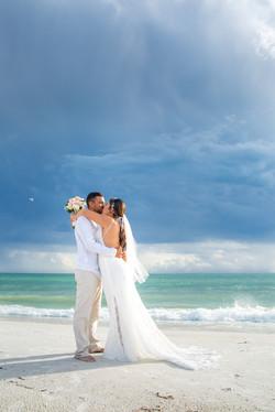 Anna Maria Island beach wedding photographer