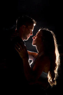 Dramatic Engagement photography captured by Bradenton Engagement Photographer