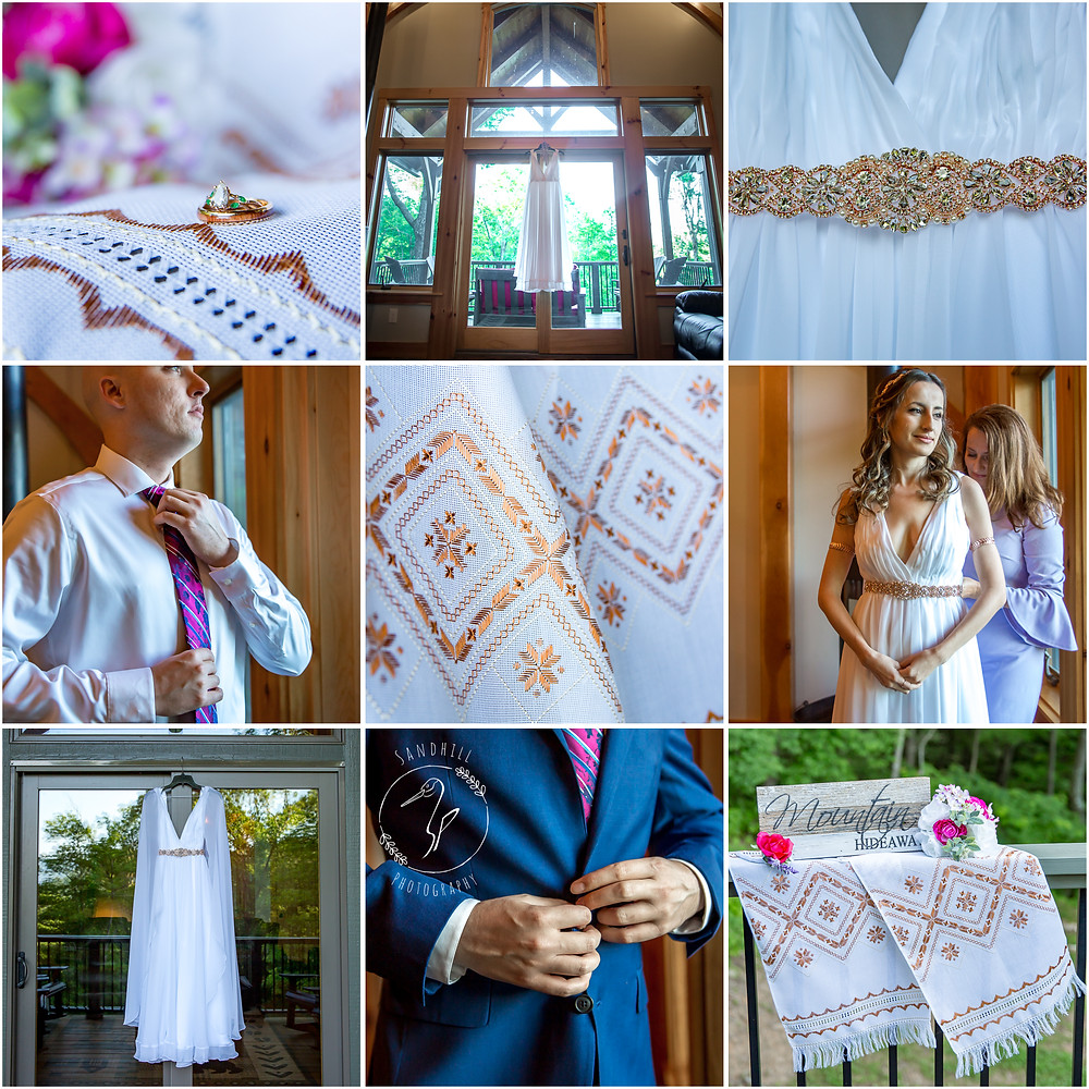 Destination Wedding Photographer, details of bride and groom getting ready, image by Sandhill Photography, Bradenton FL