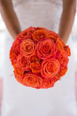 Bridal Bouquet Roses wedding