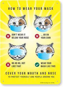 how to wear a mask cat sign.png