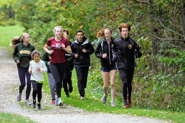 Running with Senior Coaches
