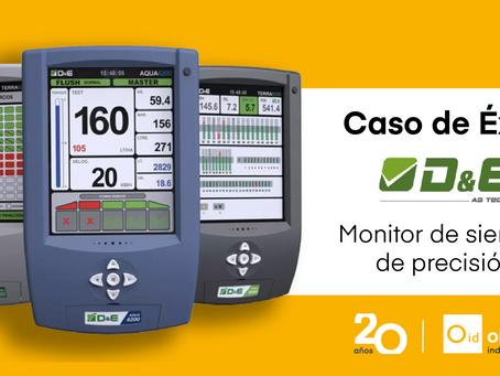 Diseñamos un monitor de siembra de precisión para D&E Agricultura de Precisión