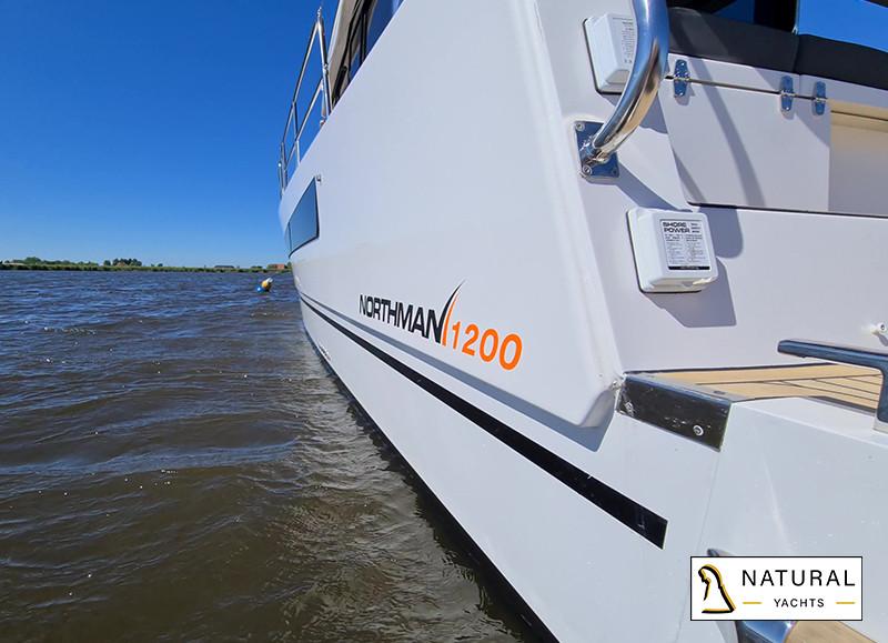 Northman 1200 Electric Motoryacht