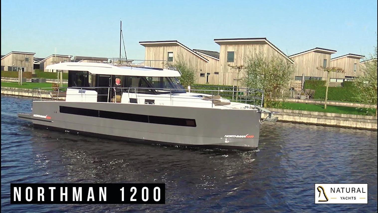 Northman 1200 Motor Yacht exterior mood video