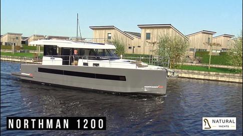 Außenbereich video Northman 1200 Motorjacht