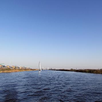 Heeg boating destination Friesland