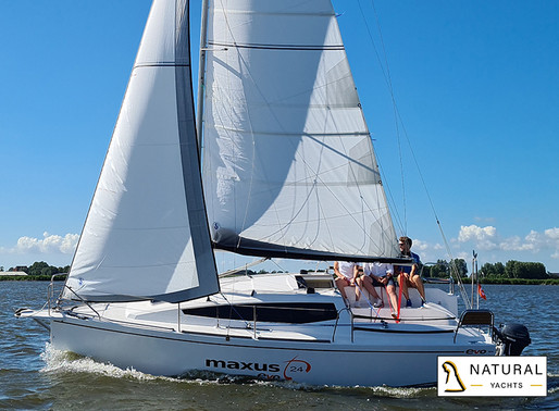 The Maxus Evo 24, a sailing boat for the entire family