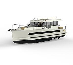 Northman 1200 zero emission motoryacht