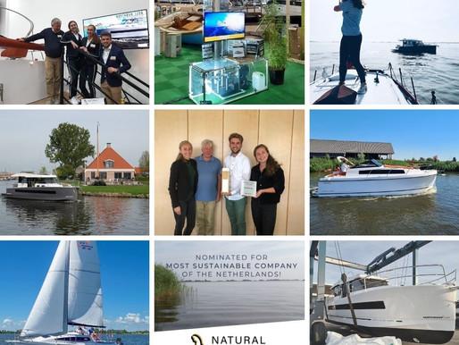 Jaaroverzicht Natural Yachts – Onze 9 beste foto's van 2020