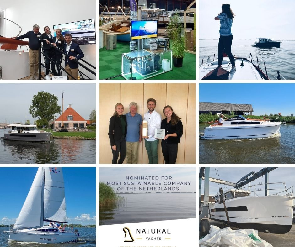 Year overview of Natural Yachts -  our best nine of 2020