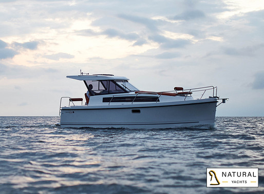 A new destination // The Nexus Revo 870 Electric & Solar Powered for charter at Plau am See in 2021!