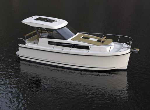 Een boot kopen in Nederland, de ideale motorboot voor een ontspannen verblijf: de Nexus Revo 870!