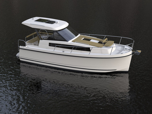 Buy a boat in the Netherlands, the ideal motorboat for a relaxing stay: the Nexus Revo 870!