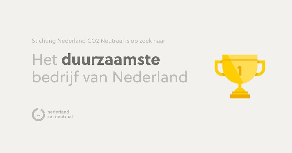 Verkiezing het duurzaamste bedrijf van Nederland