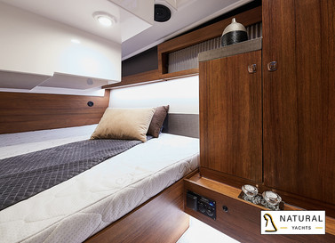 Northman 1200 cabin for two persons