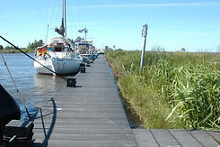 Berth places in nature in Friesland