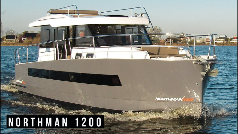 Northman 1200 Motor Yacht exterior and interior mood video