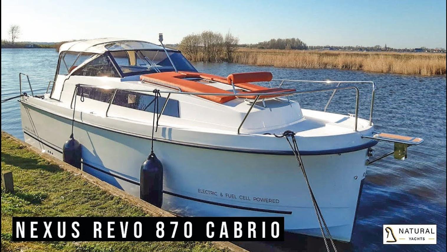 Northman Nexus Revo 870 Convertible Motoryacht