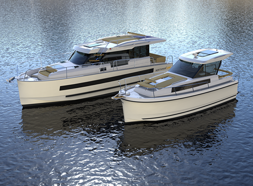 100% electric boating with the yachts of Natural Yachts, discover which yacht matches your wishes