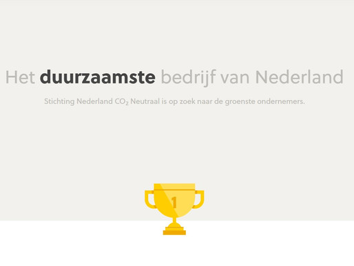 Nominaties duurzaamste bedrijf van Nederland 2020 voor Electric Ship Facilities & Natural Yachts
