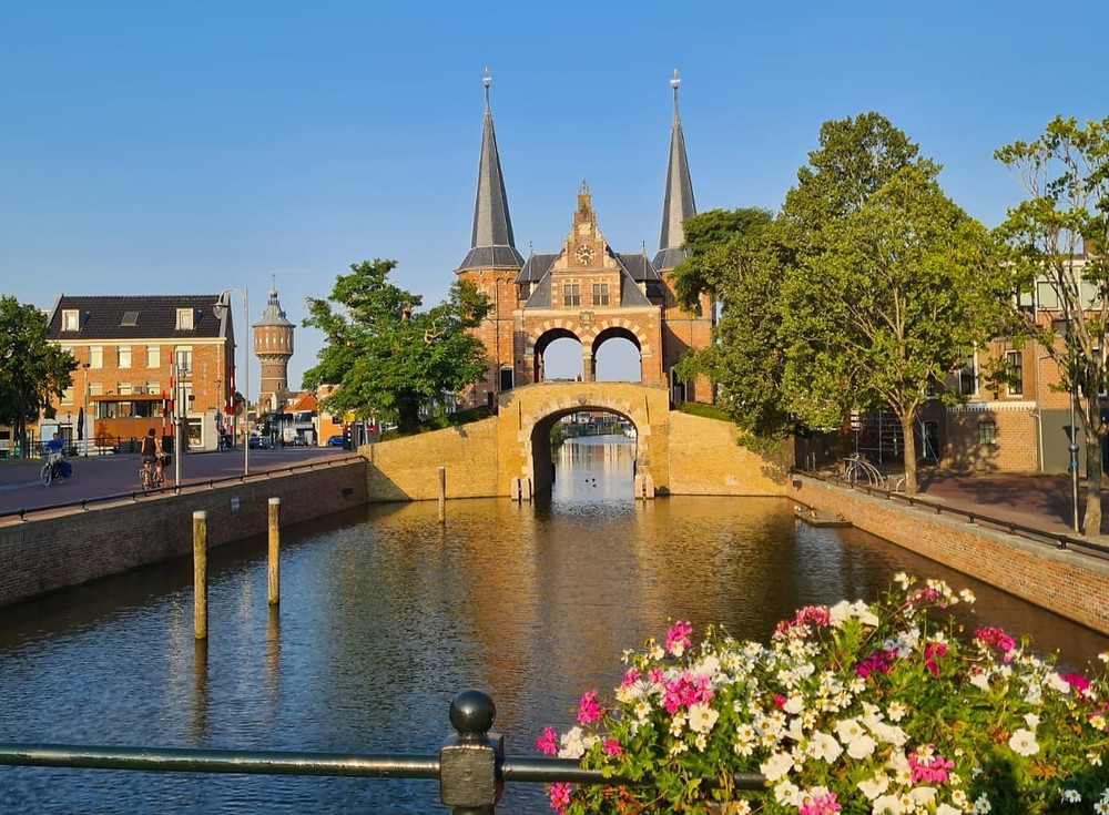 De Waterpoort in Sneek, Friesland
