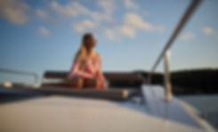 Northman 1200 Motoryacht Sundeck lounge on rooftop