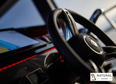 Northman 1200 steering wheel