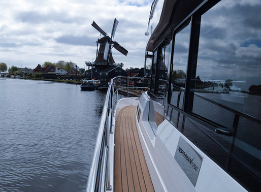Boating Route Frisian Lake District