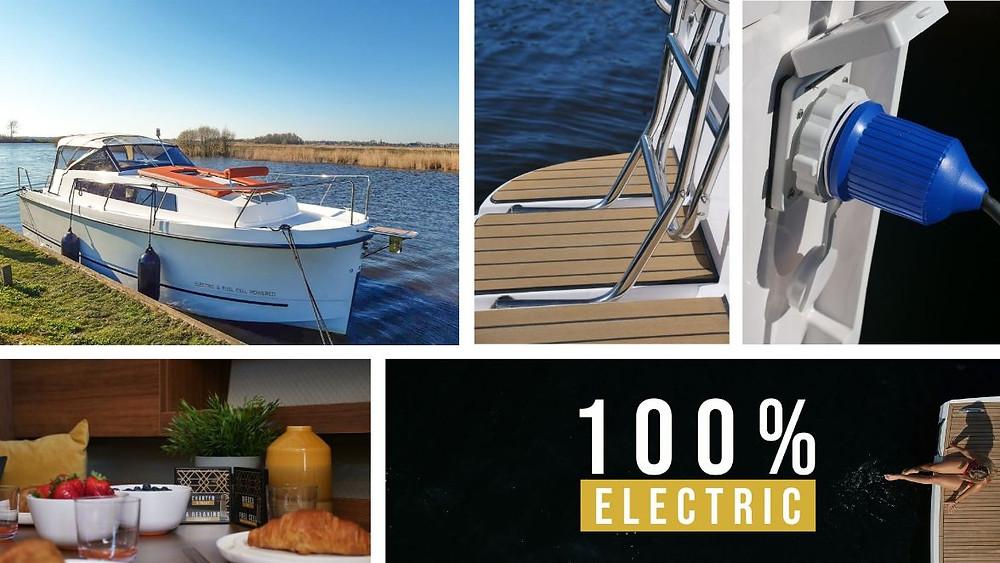 Een 9 meter 100% elektrisch motorjacht door Natural Yachts