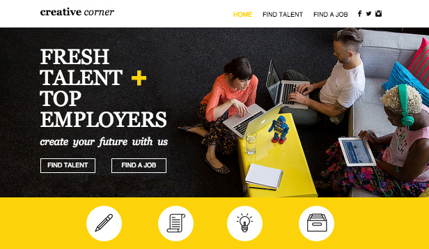 Consulting coaching website templates business wix for Design recruitment agencies